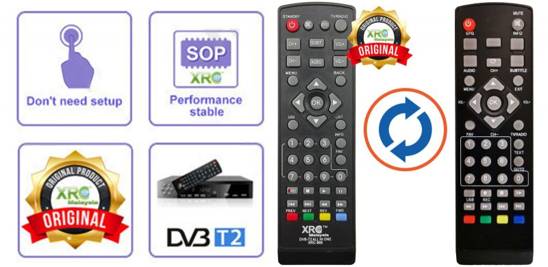 MEDIA-ART DVB-T2 REMOTE CONTROL MEDIA-ART DVB REMOTE CONTROL Johor Bahru JB Malaysia Manufacturer & Supplier | XET Sales & Services Sdn Bhd