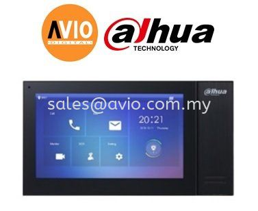 "Dahua VTH2421FB-P IP Inddor Monotor 7"" POE  with 8GB Memory + Micro SD"