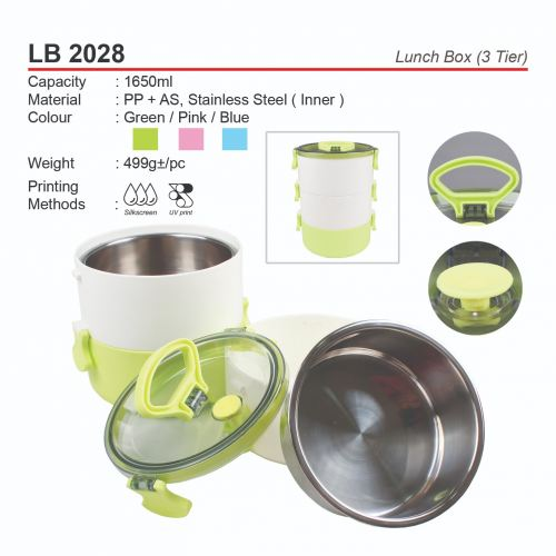 LB 2028 Lunch Box (3 Tier)