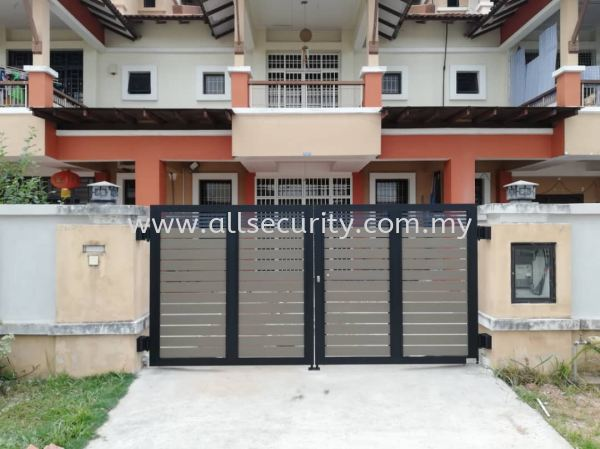 SWING GATE Aluminium Swing Gate GATE   Manufacturer, Supplier, Supply, Supplies | AST Automation Pte Ltd