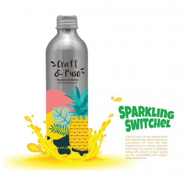 Pineapple Sparkling Switchel Malaysia, Melaka Manufacturer, Supplier, Supply, Supplies | Craft & Fuse Sdn Bhd