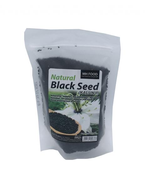MH Food Natural Black Seed Seeds BEANS, NUTS & SEEDS Malaysia, Selangor, Kuala Lumpur (KL), Petaling Jaya (PJ) Manufacturer, Wholesaler, Supplier, Importer | Matahari Sdn Bhd