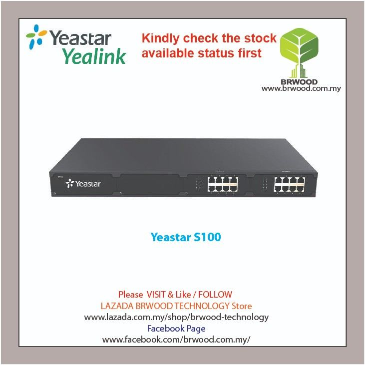 YEASTAR S100: VOIP PBX FOR 200 USERS 60 CONCURRENT CALL