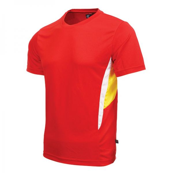 RT 03/02/SS Red  QUICK DRY TEE (CUT & SEW) ROUND NECK ARORA Kuala Lumpur (KL), Malaysia, Selangor, Cheras Supplier, Suppliers, Supply, Supplies | Arora Sports & Printing Sdn Bhd