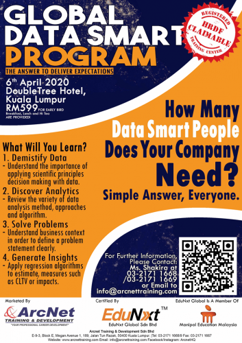 IT Training - Global Data Smart Program 2020
