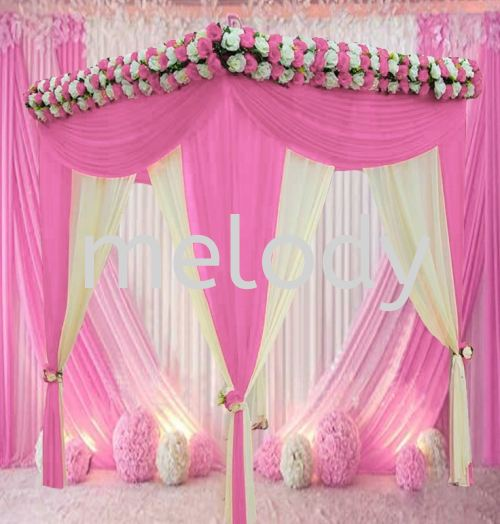 wedding square pipe canopy