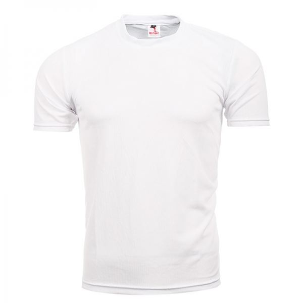 FUT 02 White QUICK DRY - PLAIN TEE  ROUND NECK MULTISPORT Kuala Lumpur (KL), Malaysia, Selangor, Cheras Supplier, Suppliers, Supply, Supplies | Arora Sports & Printing Sdn Bhd