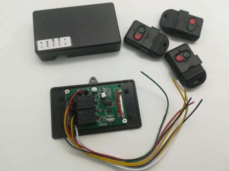 AUTOGATE RECEIVER F433 WITH 3 PCS OF 2CH REMOTE CONTROL      Alarm Accessories Alarm Systems Johor Bahru (JB), Malaysia Suppliers, Supplies, Supplier, Supply | HTI SOLUTIONS SDN BHD