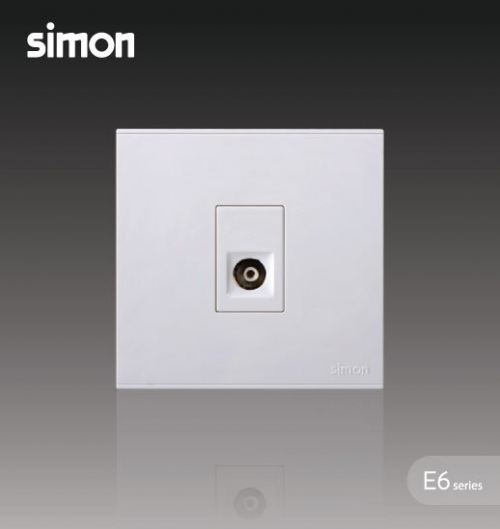 SIMON SWITCH 725111 1GANG TV OUTLET