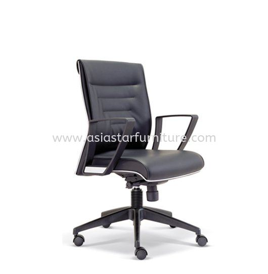 CHALLENGE LOW BACK CHAIR WITH CHROME TRIMMING LINE ASE2513 CHALLENGE Office Executive Chair Kuala Lumpur (KL), Selangor, Malaysia, Petaling Jaya (PJ) Supplier, Suppliers, Supply, Supplies | Asiastar Furniture Trading Sdn Bhd
