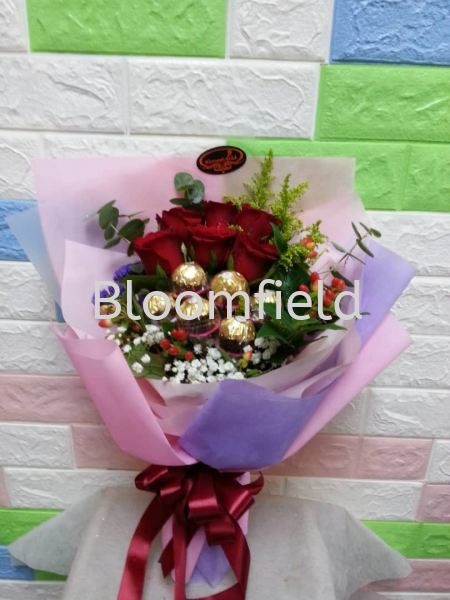 Be My Valentine RM 120.00 Be My Valentine Chocolate and Flowers Seremban, Negeri Sembilan, Malaysia Supplier, Suppliers, Supply, Supplies | Bloomfield Florist