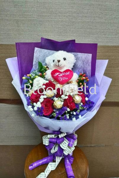 My One n Only RM 145.00 My One n Only Chocolate and Flowers Seremban, Negeri Sembilan, Malaysia Supplier, Suppliers, Supply, Supplies | Bloomfield Florist