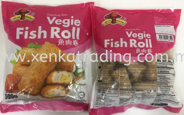 XK799 Vegie Fish Roll 500gm - (HALAL) Oden Series  Ready To Use Products Selangor, Malaysia, Kuala Lumpur (KL), Puchong Supplier, Suppliers, Supply, Supplies   Xenka Trading (M) Sdn Bhd