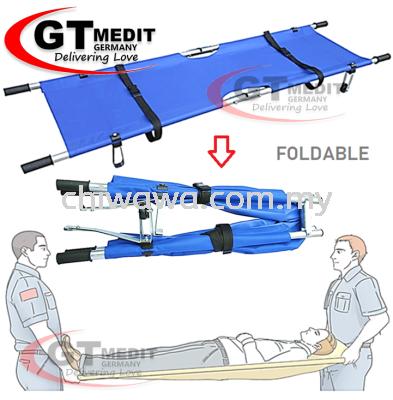 �� RM143��PatientTransport Hospital Emergency Stretcher First Aid Oxford Cloth Aluminium Bracket + 2