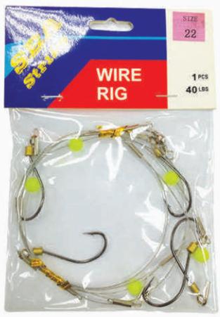 H5 WIRE RING (40LBS) Sabiki Hook Fishing Hook Penang, Malaysia, Bukit Mertajam Supplier, Importer, Supply, Supplies   Oceantac Sdn Bhd