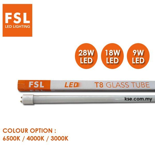 FSL T8 LED TUBE FSL Penang, Malaysia, Butterworth Supplier, Suppliers, Supply, Supplies | KSE Electrical Sdn Bhd