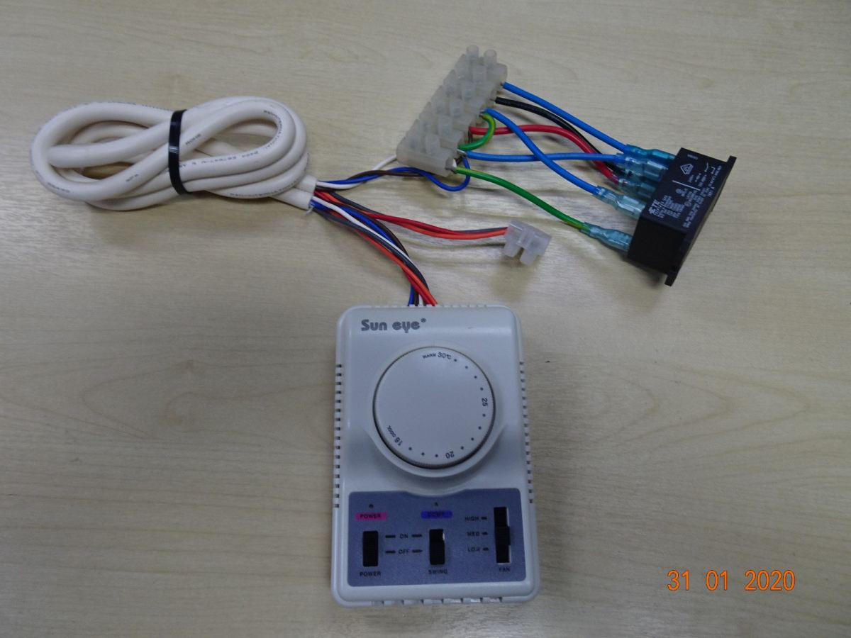 SUN EYE (TRM 2) THERMOSTAT C/W POWER RELAY & ACCESSORIES Sun Eye Temperature Display / Controller Subang Jaya, Selangor, Kuala Lumpur (KL), Malaysia. Supplier, Supplies, Manufacturer, Wholesaler | Culmi Air-Cond & Refrigeration Parts Supply Sdn Bhd