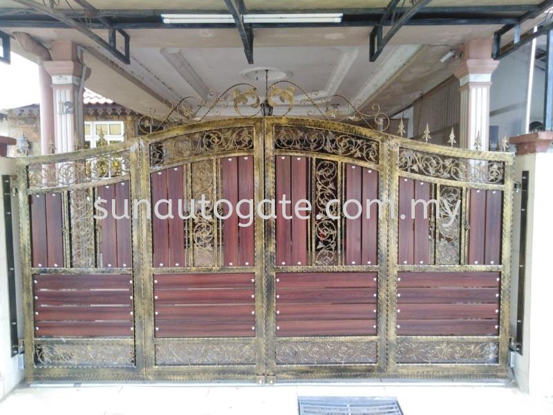 Wrough Iron And Aluminium Penang, Malaysia, Bukit Mertajam Autogate, Gate, Supplier, Services | Sun Autogate & Engineering
