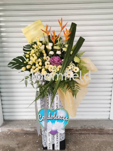 Deepest Sympathy  1 RM 310.00 Deepest Sympathy  1 Condolences Seremban, Negeri Sembilan, Malaysia Supplier, Suppliers, Supply, Supplies | Bloomfield Florist