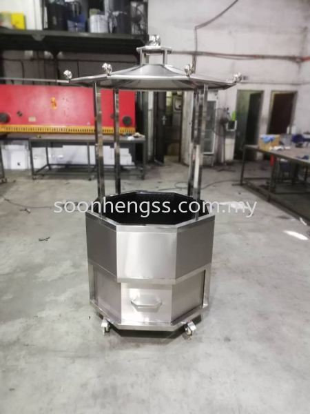 incinerator DIVERSIFICATION STAINLESS STEEL Johor Bahru (JB), Skudai, Malaysia Contractor, Manufacturer, Supplier, Supply | Soon Heng Stainless Steel & Renovation Works Sdn Bhd