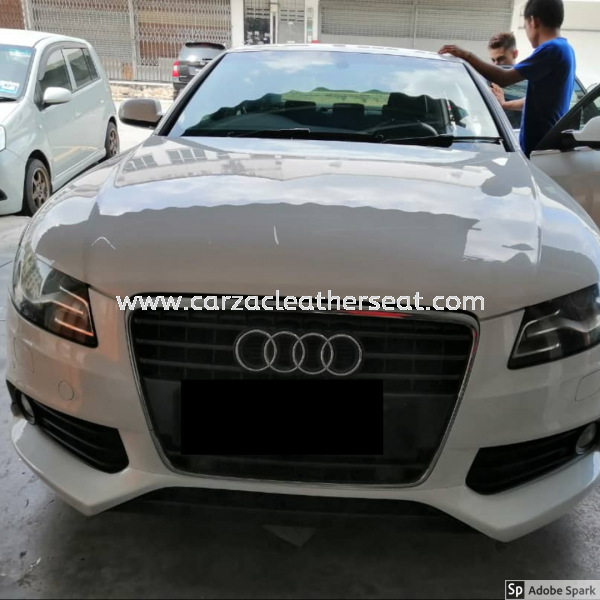 AUDI A4 HEADLINER REPLACE FABRIC 5 SEATER Others Cheras, Selangor, Kuala Lumpur, KL, Malaysia. Service, Retailer, One Stop Solution | Carzac Sdn Bhd