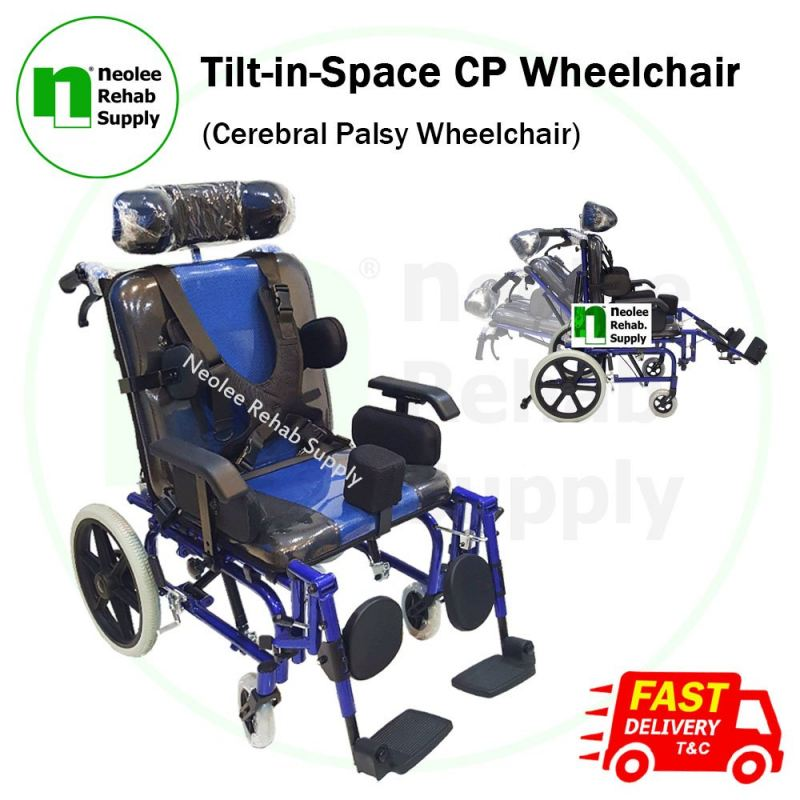 NL958LC Tilt in Space Wheelchair
