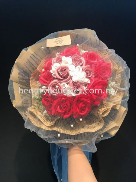 SB 018 Soap Roses Flower Soap ¤снь╗е Kuala Lumpur, KL, Selangor, Malaysia. Suppliers, Supplies, Supplier, Supply | Beauty Bouquet Florist `N`Gifts