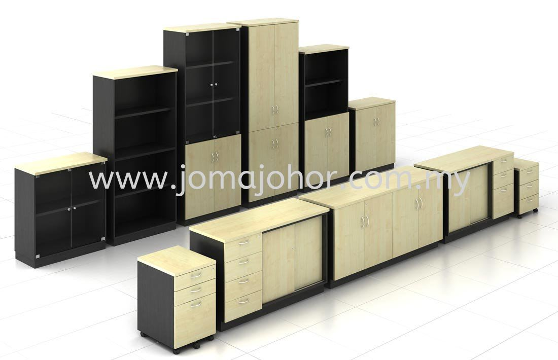 T2 Cabinets Series VS Office Furniture Wooden Furniture Johor Bahru (JB), Malaysia Supplier, Suppliers, Supply, Supplies | Joma (Johor) Sdn Bhd