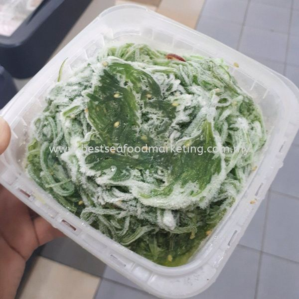 Wakame Seaweed Salad / 海藻沙拉 (sold per pack) Japanese Cuisine / 日式料理 Frozen / 冷冻 Johor Bahru (JB), Skudai, Malaysia Wholesaler, Supplier, Supply, Retailer | BEST Seafood Marketing (Johor) Sdn Bhd