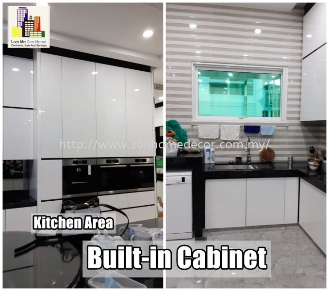 Kitchen Cabinet Built in kitchen cabinet Built in works Furniture & Renovation Selangor, Malaysia, Kuala Lumpur (KL), Puchong, Shah Alam Supplier, Suppliers, Supply, Supplies | Zen Home Decor