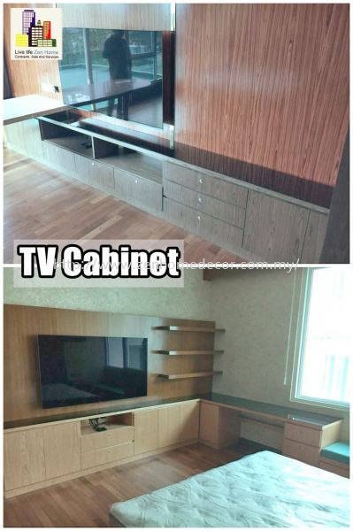 TV Cabinet Built in cabinet Built in works Furniture & Renovation Selangor, Malaysia, Kuala Lumpur (KL), Puchong, Shah Alam Supplier, Suppliers, Supply, Supplies   Zen Home Decor