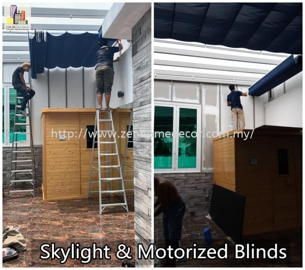 Skylight Motorized Blinds Blinds motorised Motorised Selangor, Malaysia, Kuala Lumpur (KL), Puchong, Shah Alam Supplier, Suppliers, Supply, Supplies   Zen Home Decor