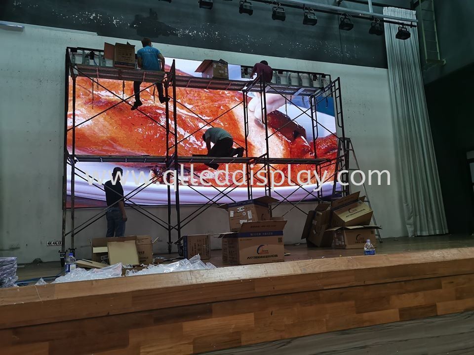 Amansari Residence Resort Hall LED Screen Resort / Hotel / BallRoom LED Display Screen Stage Effect LED Display Screen Johor Bahru (JB), Johor, Malaysia Manufacturer | Q & L LED Display Board Supply