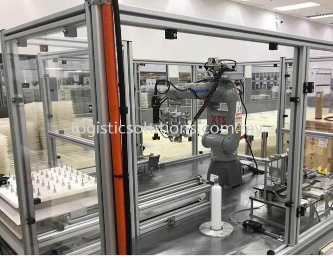 Robot System Malaysia - Material Handling Robotic Arm