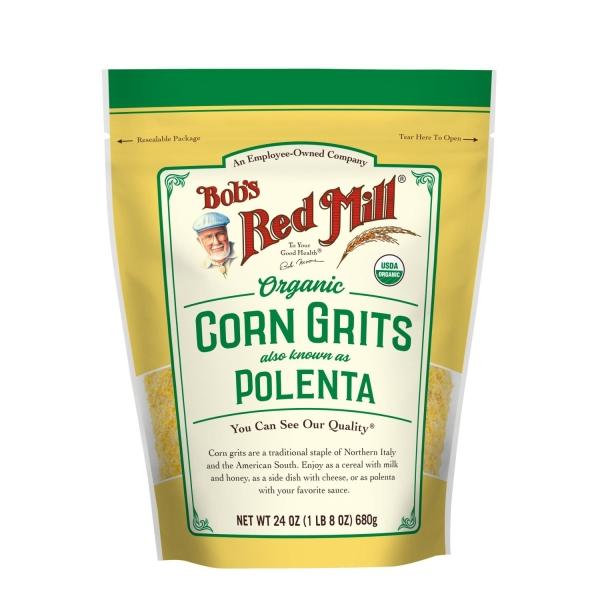 Organic Corn Grits Polenta Nuts, Seeds, Grains and Beans Bobs Red Mill Malaysia, Selangor, Kuala Lumpur (KL) Distributor, Wholesaler, Supplier, Supply | Ballun Distribution (M) Sdn Bhd