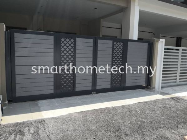 Fully Aluminium Gate _MyGate MY@Gate  Aluminium Gate Melaka, Malaysia Supplier, Supply, Supplies, Installation | SmartHome Technology Solution