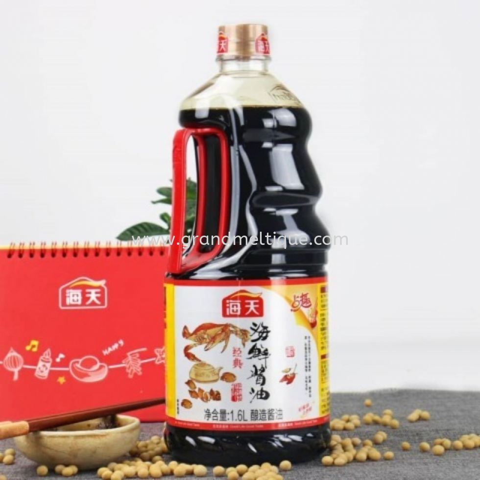HADAY TASTY SEAFOOD FLVR SOY SAUCE 1.6L