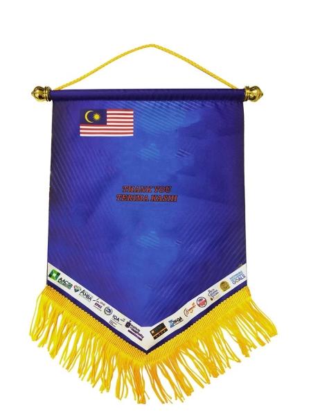 Pennant Flag Souvenir Kedah, Malaysia, Kulim Supplier, Suppliers, Supply, Supplies | Hokari Sdn Bhd