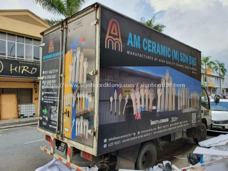 am ceramic sfn bhd truck sticker Truck Lorry Sticker Klang, Malaysia Supplier, Supply, Manufacturer | Great Sign Advertising (M) Sdn Bhd