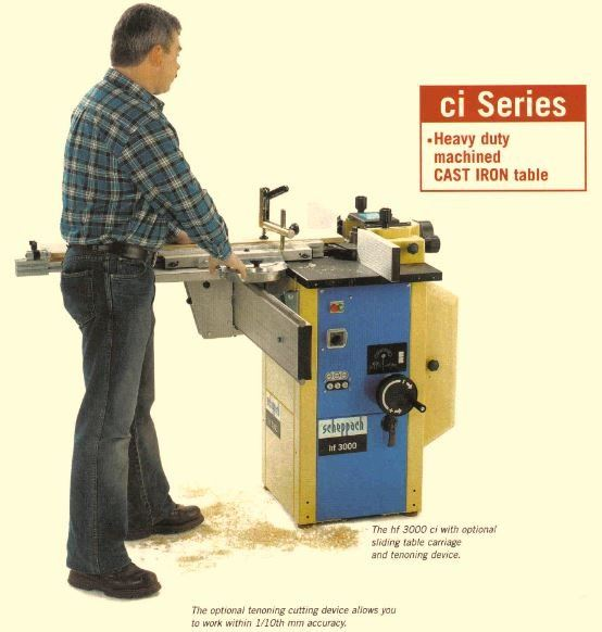 SCHEPPACH VERTICAL SPINDLE MOULDER 1.8KW 230V HF3000S (GERMANY) HOBBY CRAFT ESSENTIALS OTHER TOOLS Singapore, Kallang Supplier, Suppliers, Supply, Supplies | DIYTOOLS.SG