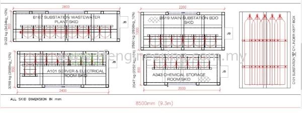 Skid Design and Fabrication  Installation IOU PROJECT - BASF PETRONAS CHEMICALS -  Johor Bahru (JB), Malaysia, Selangor, Kuala Lumpur (KL), Shah Alam Supplier, Supply, Supplies, Service | TF Engineering Services Sdn Bhd