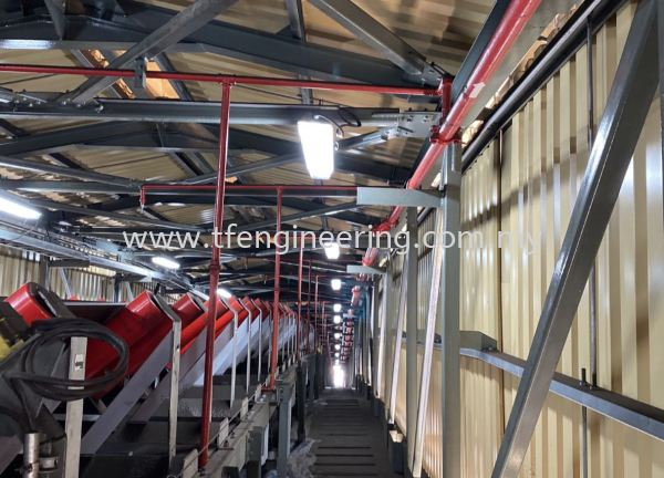 Sprinklers Piping System  Fire Sprinkler System Design and Build Fire Fighting System Johor Bahru (JB), Malaysia, Selangor, Kuala Lumpur (KL), Shah Alam Supplier, Supply, Supplies, Service | TF Engineering Services Sdn Bhd