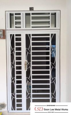 Powder Coated Metal Door Grill / Window Grill