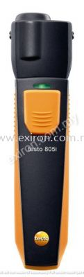 Testo infrared thermometer with smartphone operation 805i