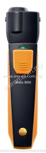 Testo infrared thermometer with smartphone operation 805i Testo Measurement Solution Selangor, Malaysia, Kuala Lumpur (KL), Puchong Supplier, Suppliers, Supply, Supplies   Exiron Parts Supply Sdn Bhd