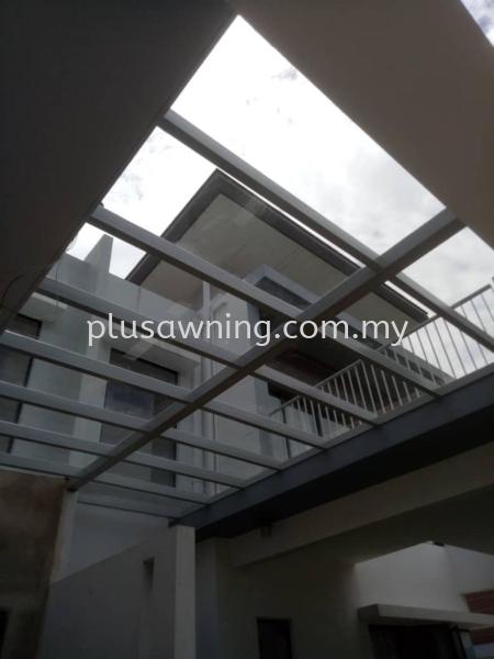 Transparent Polycarbonate Clear @Jalan Jade Hills 12/1, Kajang, Selangor  Polycarbonate Skylight & Roofing Selangor, Malaysia, Kuala Lumpur (KL), Cheras Contractor, Service | Plus Awning & Iron Sdn Bhd