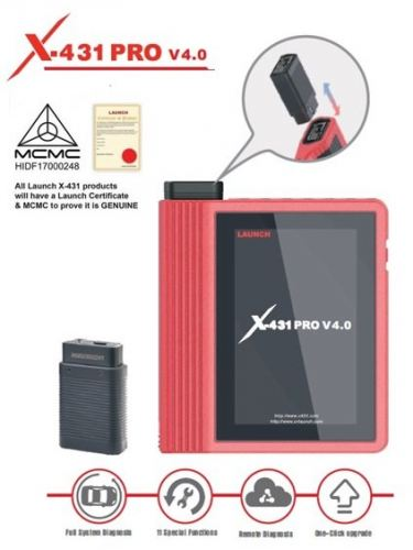 LAUNCH X-431 PRO (V.4.0) (NEW ARRIVAL)