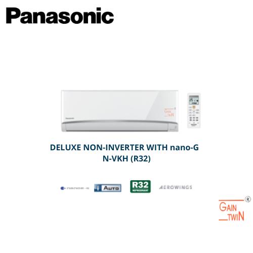 PANASONIC Deluxe Non-Inverter R32 Air Conditioner CS/CU-N VKH-1