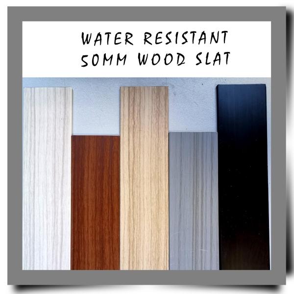 Water Resistant 50mm Wood Slat Color Sample Wooden Venetian Blind Selangor, Malaysia, Kuala Lumpur (KL), Petaling Jaya (PJ) Supplier, Retailer, Supply, Supplies | Jane Curtain Design & Furnishing