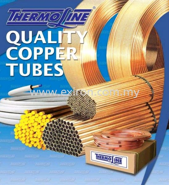 Thermoline Copper Pipe & tube Thermoline Copper Pipe & Tubes Copper Pipe & Fittings Selangor, Malaysia, Kuala Lumpur (KL), Puchong Supplier, Suppliers, Supply, Supplies | Exiron Parts Supply Sdn Bhd